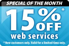 15% Off Design Charges.  New Customers only. Valid for a limited time.